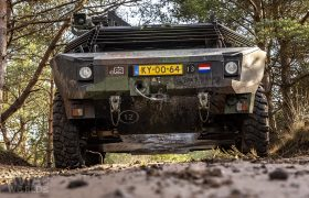 A winch is an essential safety feature for these kinds of military vehicles