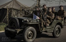 Operation Amherst - SAS Jeep of the Free French