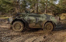 The Fennek is a Light Armoured Reconnaissance Vehicle