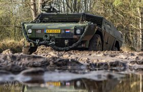 The Fennek is produced by Krauss-Maffei Wegmann and Dutch Defence Vehicle Systems